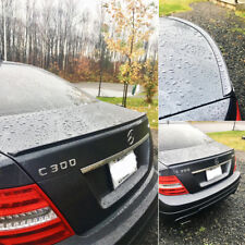 Painted Mercedes BENZ W204 C class 4DR C250 C300 Trunk Lip Spoiler 08-13 #755