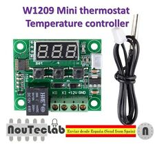 W1209 DC12V Digital Cool Heat temp Thermostat Thermometer Temperature Control