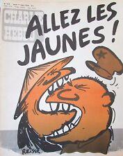 CHARLIE HEBDO No 433 de MARS 1979  REISER GUERRE RUSSIE ALLEZ LES JAUNES !