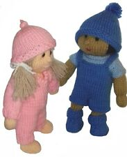 CUTE BABY DOLL KNITTING PATTERN WITH OUTFITS + ACCESSORIES / BLANKET. CHILD SAFE