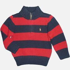 Gestreifte Baby-Pullover & -Strickwaren für Jungen aus 100% Baumwolle