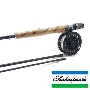 Shakespeare Omni Fly Fishing Combo - Fly Rod, Reel Line & Backing Full Trout Kit