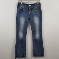 Silver Aiko Boot Cut Women's Medium Wash Blue Jeans Size 28 x 31