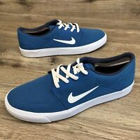 Nike SB Portmore CNVS Brigade Blue/White/Obsidian 723874-414 Pre-owned Clean