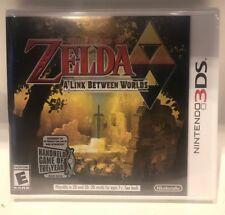 The Legend of Zelda: A Link Between Worlds  (Nintendo 3DS, 2013) White Label USA