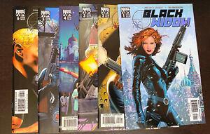 BLACK WIDOW (2004 Marvel) -- #1 2 3 4 5 6 -- FULL Set / Series