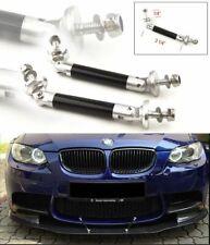Carbon Bumper Lip Diffuser Rod Splitter Strut Tie Bars Stable For Subaru Mazda