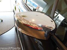 Genuine RENAULT CLIO CAPTUR cromato argento finitura a specchio copre CAPS COPPIA REGALO