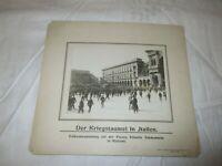 1916 Mailand Strab DUNLOP REKLAME / Echtphoto Berliner Illustrations-Gesells.
