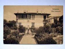 SETTIGNANO Villa Gamberaia Firenze vecchia cartolina
