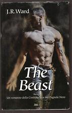 """J.R. Ward: """"The Beast"""" - In italiano - Retail/Mondadori - 2016 - Pugnale nero"""