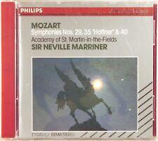 PHILIPS FULL SILVER Mozart MARRINER Symphonies(CD 1987 W. GERMANY) 420 486-2