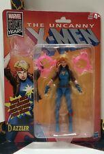 "The Dazzler Marvel Legends Hasbro X-Men Retro Vintage Wave Action Figure 6"" New"