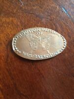 """Houston Museum Butterfly pressed smashed elongated penny """"Free Shipping""""A190"""