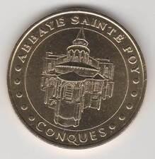 -- 2005 COIN TOKEN JETON MONNAIE DE PARIS -- 12 320 CONQUES ABBAYE SAINTE-FOY