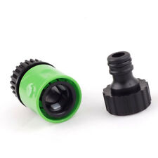 For 1/2''-3/4'' Hose to Garden 1/4'' Pipe Water Quick Connect Male Adapter 4U