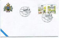 1995-06-24 San Marino giardini di ninfa cisterna di Latina ANNULLO SPECIALE