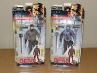 SKYBOUND EXCLUSIVE McFarlane The Walking Dead Color & B&W Bloody Rick Grimes NEW
