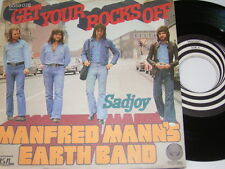 "7"" - Manfred Mann´s Earth Band Get your Rocks off & Sadjoy - Swirl 1973 # 4366"