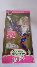 Barbie Doll Olympic Gymnast NIB Vintage 1996 Atlanta Mattel Blonde FREE SHIP