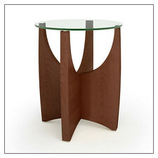Steelcase Alight End Table by Turnstone, in Cherry, Maple, Walnut