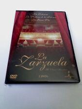 """DVD """"LA ZARZUELA LA DOLOROSA LA VERBENA DE LA PALOMA LA GRAN VIA"""" 2 DVD JOSE LUI"""