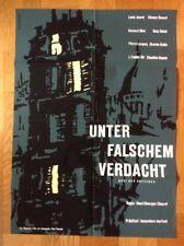 Unter falschem Verdacht (Kinoplakat '59) - Henri-Georges Clouzot / Louis Jouvet