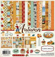 Carta Bella Paper Autumn Collection 12 x 12 Collection Kit 2016