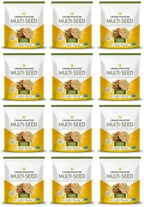 Crunchmaster Rosemary Olive Oil Multi Seed Cracker 4 OZ 12 Pack BEST BY 8/31/21