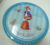 """2001 Peter Rabbit Tin 7.5"""""""