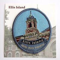 Official Ellis Island National Monument Souvenir Patch New York City NYC