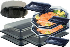 9 -  SANDWICH PLATTERS AND FOOD TRAYS AND CAKE DOME  -  IDEAL FOR PARTIES