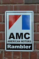 AMC Rambler 72 American Motors Racing Sign Service Mechanic AMX Garage SIGN