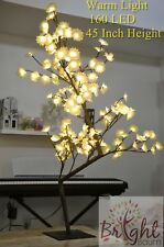 Table Top Mini Flower Tree 160LED Warm Light Office Home Room Party Event Decro