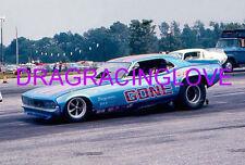 """""""Color Me Gone"""" Roger Lindamood 1972 Dodge Challenger NITRO Funny Car PHOTO!"""