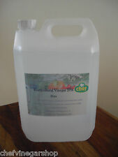 WHITE VINEGAR 20% 5Ltr Traditional,distilled Extreme strong!