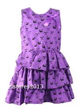 Vêtements violets décontracté en polyester pour fille de 2 à 16 ans