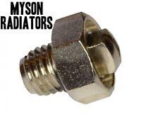 Radiator GENUINE BLEED SCREW AIR /  VALVE VENT NIPPLE  'MYSON' RADIATORS >2003