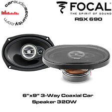 "Focal RCX690 - 6""x9"" 3-Way Coaxial Car Speaker Shelf Speakers 320W Total Power"