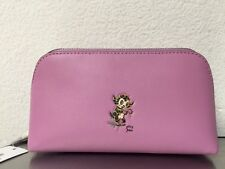 Coach Gary Baseman Pink Cosmetic Case Bag Pouch Limited Edition 64771 New