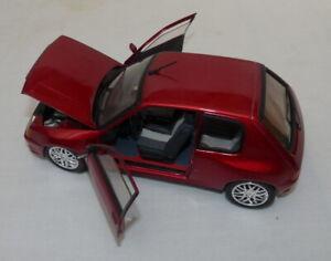 SOLIDO - 1/18 - PEUGEOT 205 GTI Tuning - rouge métalisé