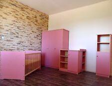 chambre de bébé Meubles pour enfants COMPLET Ensemble de Lit Armoire Commode 2