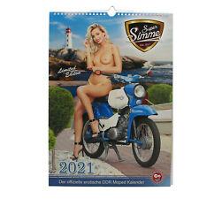 Erotikkalender Kalender Super Simme 2021 Simson S51 KR51 SR4-2 Star DUO Schwalbe