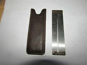 XX rare vintage hardy alnwick gut hook gauge measure tool chesterman sheffield..