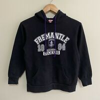 Fremantle Dockers AFL Football Hoodie Hooded Sweatshirt Jumper Youth Boys 12