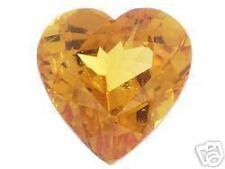 .70ct Heart Shaped Spessartine Garnet, Gemstone