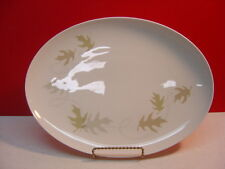 "Franciscan China WHIRL-A-GIG 13"" Oval Serving Platter"