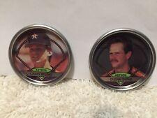 1990 Topps Coins-Astros-Biggio & Davis