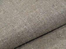 Decorative Grain Sack Linen Fabric Flax 100% Natural Organic Material