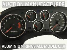 For Eagle Talon 1989-1995 Polished Aluminium Chrome Gauge Rings 5 pcs